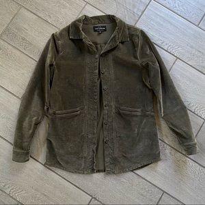 LUCKY BRAND Boyfriend Utility Parkman Shirt Jacket